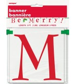 Banner - Block, Be Merry