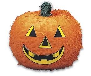 Pinata - Pumpkin, Round