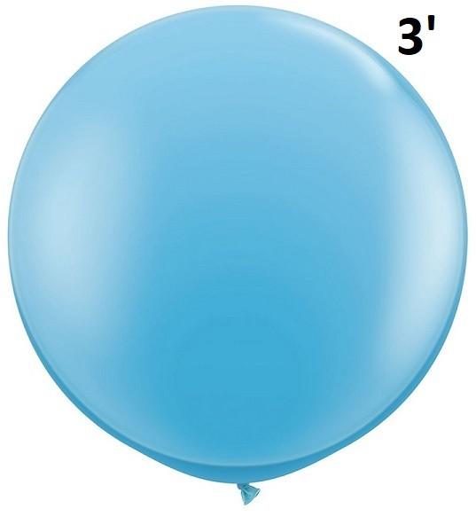Balloon - Latex 3' Standard Pale Blue