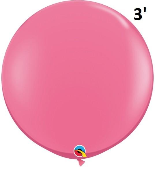Balloon - Latex 3' Fashion Rose