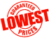 Lowest Price Garuantee